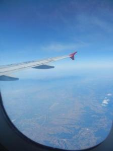 Flying over Turkey