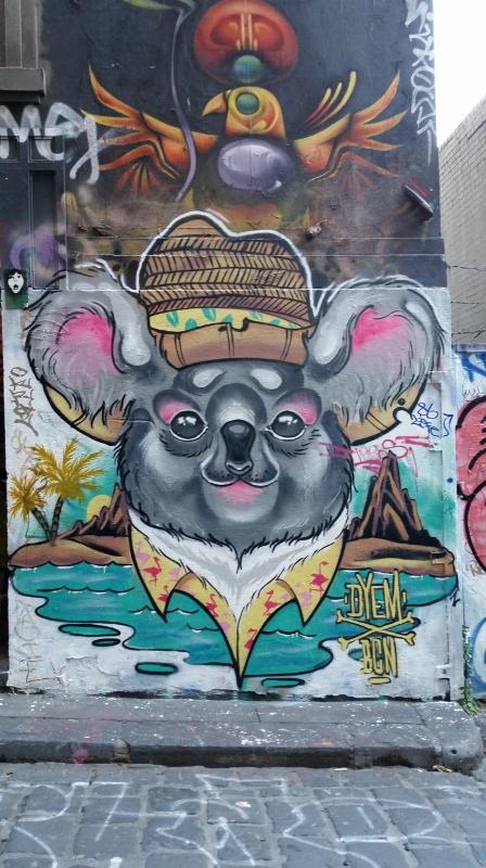 Koala Graffiti